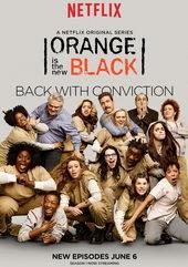Постер к сериалу Оранжевый — хит сезона (2013)