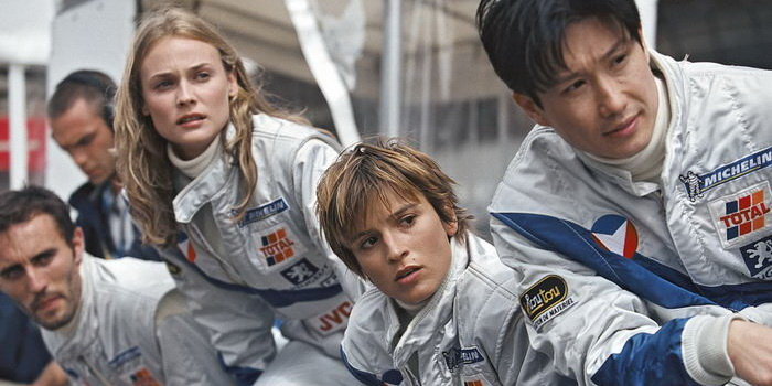 персонажи из фильма Мишель Вальян: Жажда скорости (2003)
