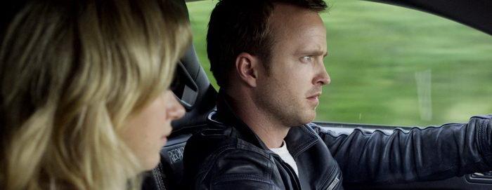 сцена из фильма Need for Speed: Жажда скорости (2014)