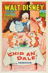 постер к мультику Чип и Дейл(1947)