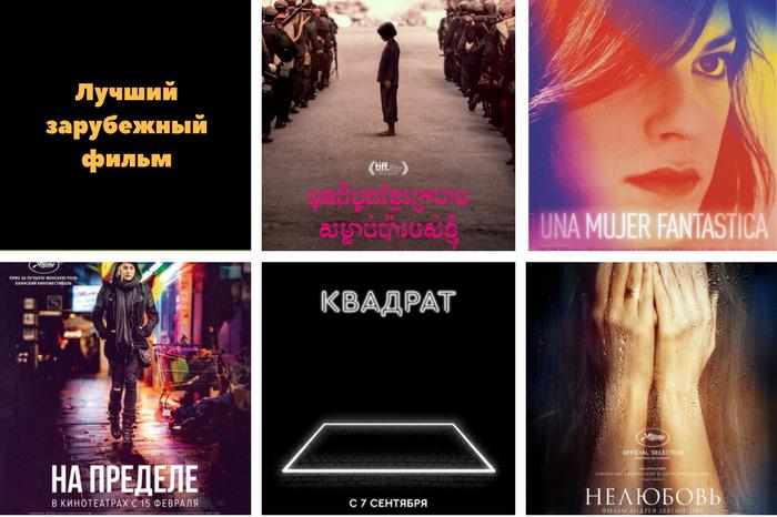 зарубежные фильмы золотого глобуса 2018