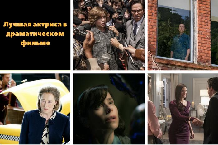 актрисы драмы золотого глобуса 2018