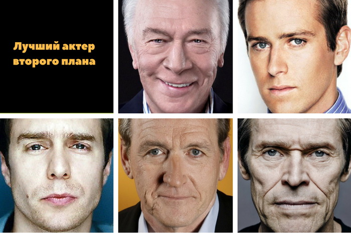 актеры второго плана золотого глобуса 2018