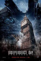 постер к фильму День Независимости: Возрождение (2016)