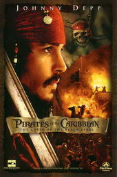 постер к фильму Пираты Карибского моря: Проклятие Черной жемчужины(2003)