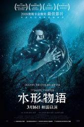 афиша к фильму Форма воды (2018)