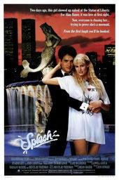 плакат к фильму Всплеск (1984)