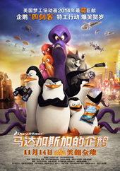 постер к мультику Пингвины Мадагаскара(2014)