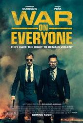 афиша к фильму Война против всех (2017)