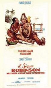 плакат к фильму Синьор Робинзон (1976)