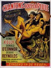 плакат к фильму Поющие под дождем (1952)