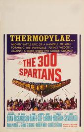 афиша к фильму 300 спартанцев (1962)