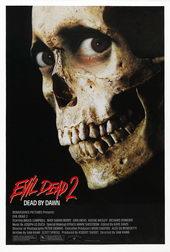 плакат к фильму Зловещие мертвецы 2 (1987)