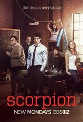 плакат к сериалу Скорпион (2014)