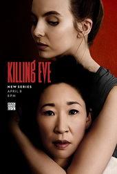 постер к сериалу Убивая Еву (2018)