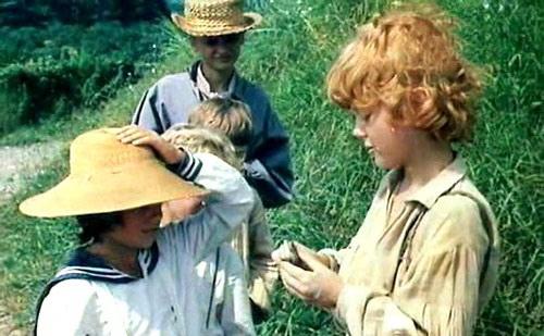 кадр из фильма Приключения Тома Сойера и Гекльберри Фина (1982)