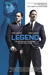 плакат к фильму Легенда (2015)