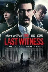 плакат к фильму Последний свидетель (2018)