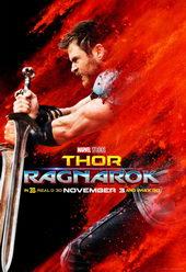 плакат к фильму Тор: Рагнарёк(2017)