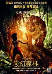афиша к фильму Книга джунглей(2016)