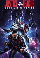 постер к мультфильму Лига справедливости: Боги и монстры (2015)