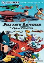 плакат к мультфильму Лига справедливости: Новый барьер (2008)