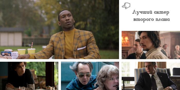 объявлены номинанты на золотой глобус 2019