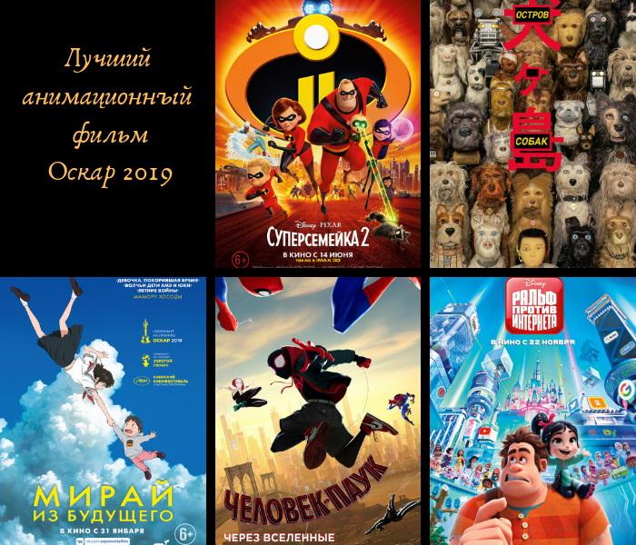 мультфильмы номинированные на оскар 2019