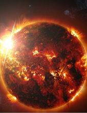 Наше солнце, ядерный синтез в максимальной экспрессии (2018)