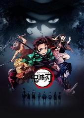 постер к аниме Клинок, рассекающий демонов (2019)