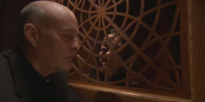 сцена из фильма Пастырь: Битва за души (2008)