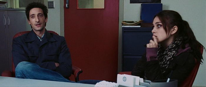 сцена из фильма Пиджак (2005)