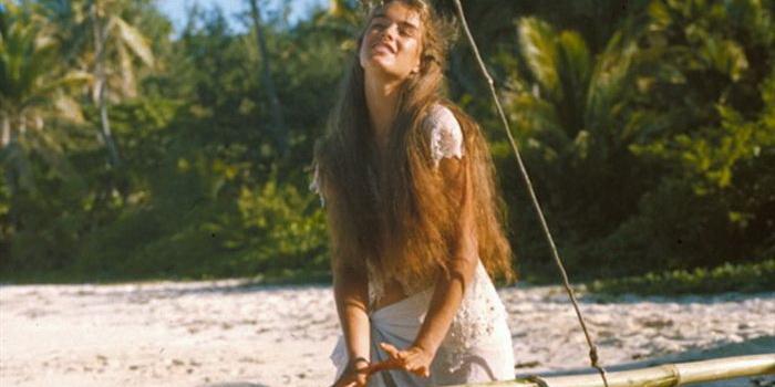 сцена из фильма Голубая лагуна (1980)