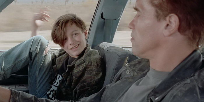 сцена из фильма Терминатор 2: Судный день (1991)