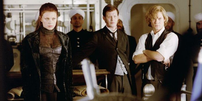 сцена из фильма Лига выдающихся джентльменов (2003)
