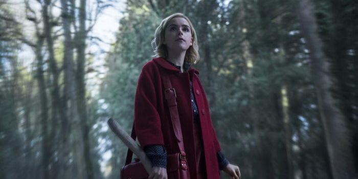 кадр из фильма Леденящие душу приключения Сабрины (2018)