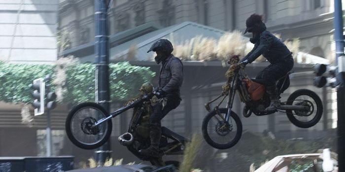 сцена из фильма Судный день (2008)