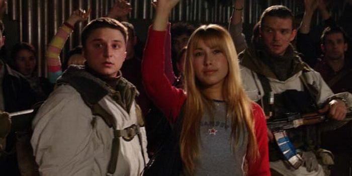 персонажи из фильма Живой (2006)