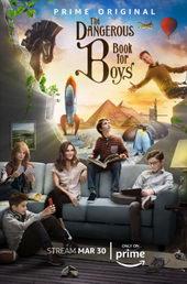 афиша к сериалу Опасная книга для мальчиков (2018)